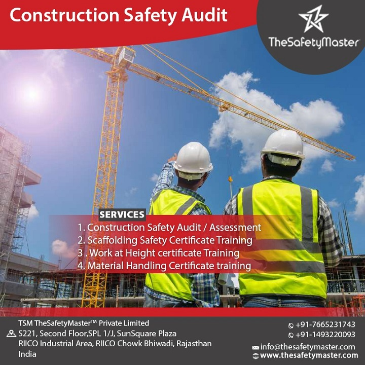 Construction Safety Audit – TheSafetyMaster™