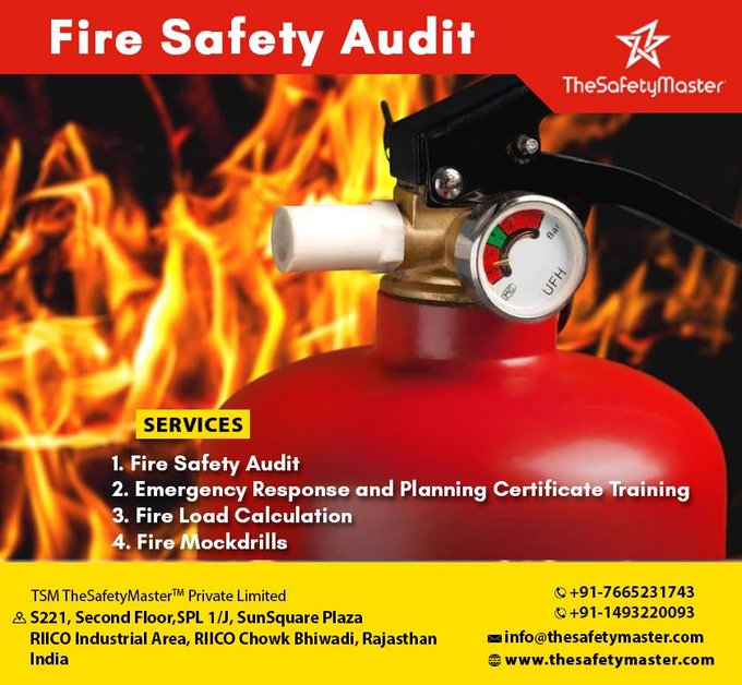 Fire Safety Audit by TheSafetyMaster™