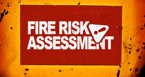 Scope of work for fire risk assessment